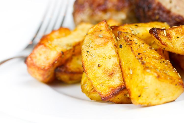 Небольшую порцию жареной картошечки