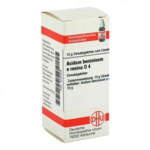 Acidum benzoicum e resina D4