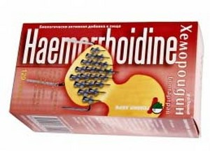 Хемороидин от геморроя
