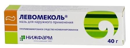 Антибиотик Левомеколь
