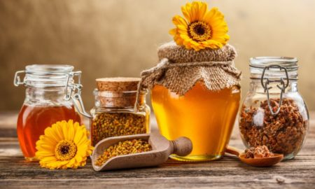 мед и прополис от геморроя