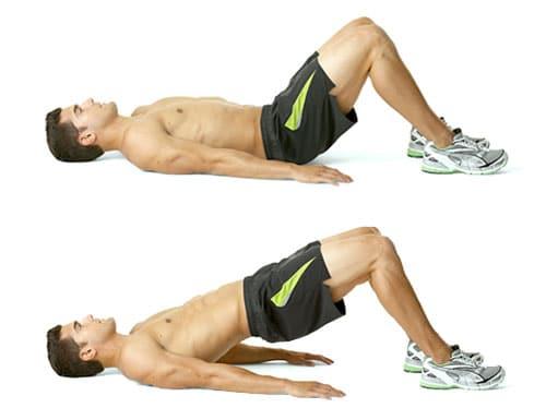 Полезны упражнения для мышц таза и ягодиц