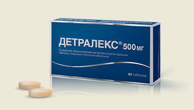 Детралекс препарат от геморроя