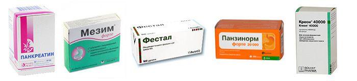 Препараты для нормализации пищеварения