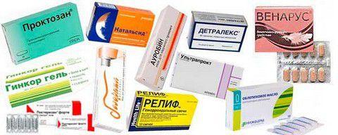 Фото препараты от геморроя