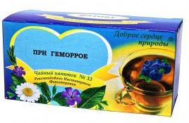 Противогеморроидальный чай