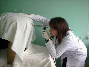 Проведение аноскопии при геморрое