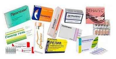 Как лечить геморрой, если 2 формы -препараты