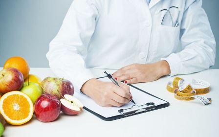 питание составляет врач