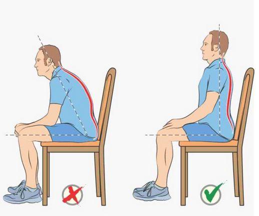 Правильная поза при заболевании прямой кишки