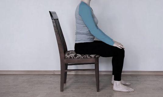 Как правильно сидеть на стуле при геморрое
