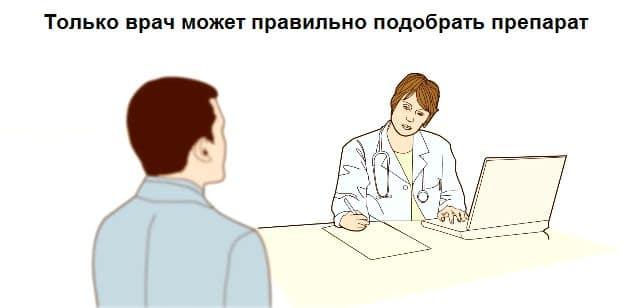 Только врач может быстро помочь