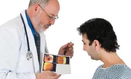 проктолог с пациентом